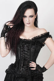Rogier Custom Made Black Victorian Inspired Corset
