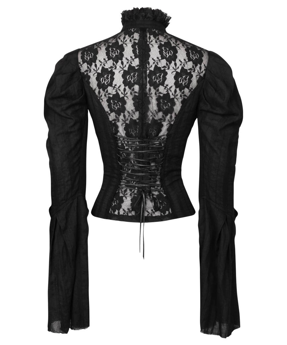 Rodney Gothic Top with Long Sleeve
