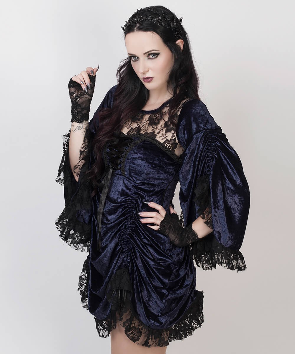 Lawrie Blue Gothic Dual Top & Dress