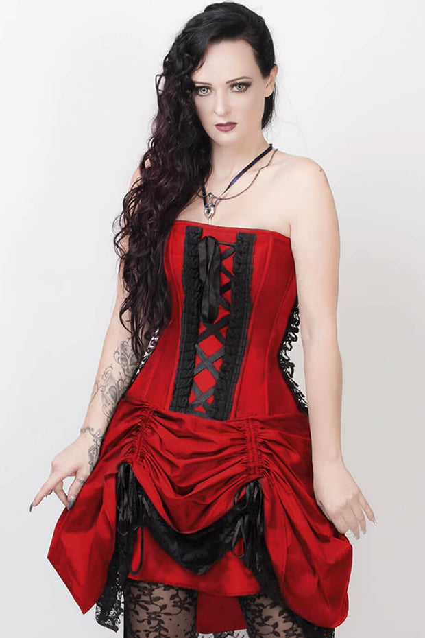 Fyodor Victorian Inspired Corset Dress with Bolero