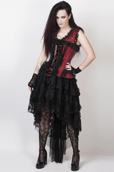 Afolabi Custom Made Victorian Inspired Burlesque Corset Dress
