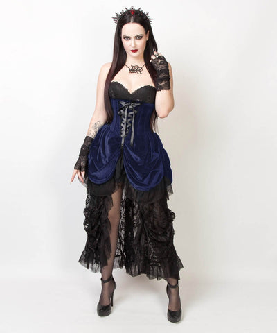 Nanelia Burlesque Underbust Corset Dress