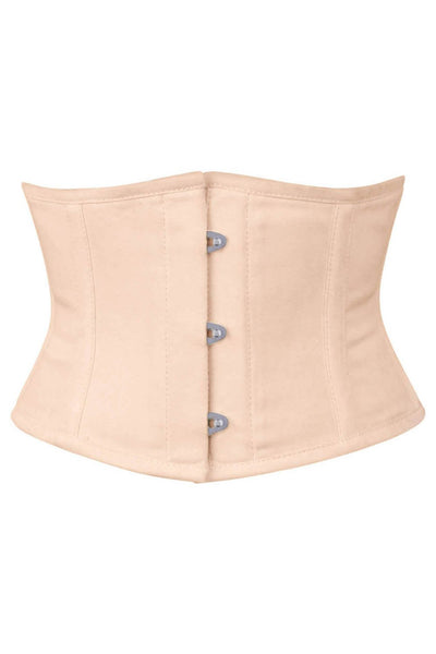 Nude Corset Waist Shaper in 100% Cotton