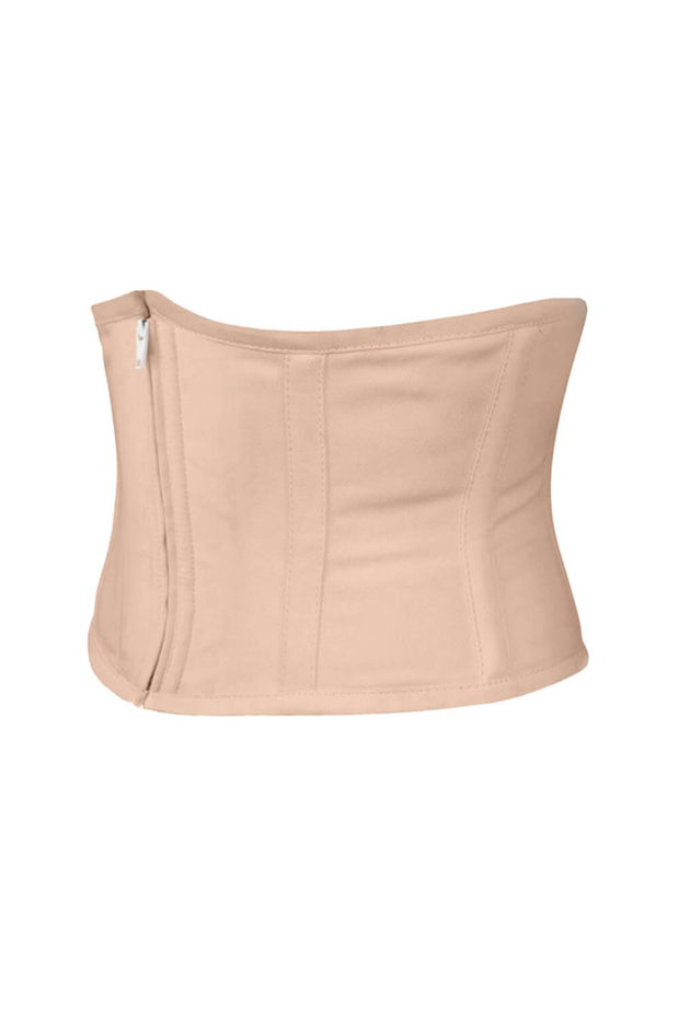 Underbust Nude Waist Cincher Corset in 100% Cotton