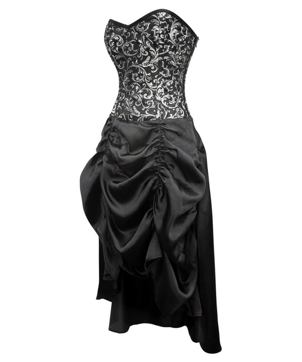 SOLD OUT - Berith Gothic Corset Dress for Waist Training & Posture Correction