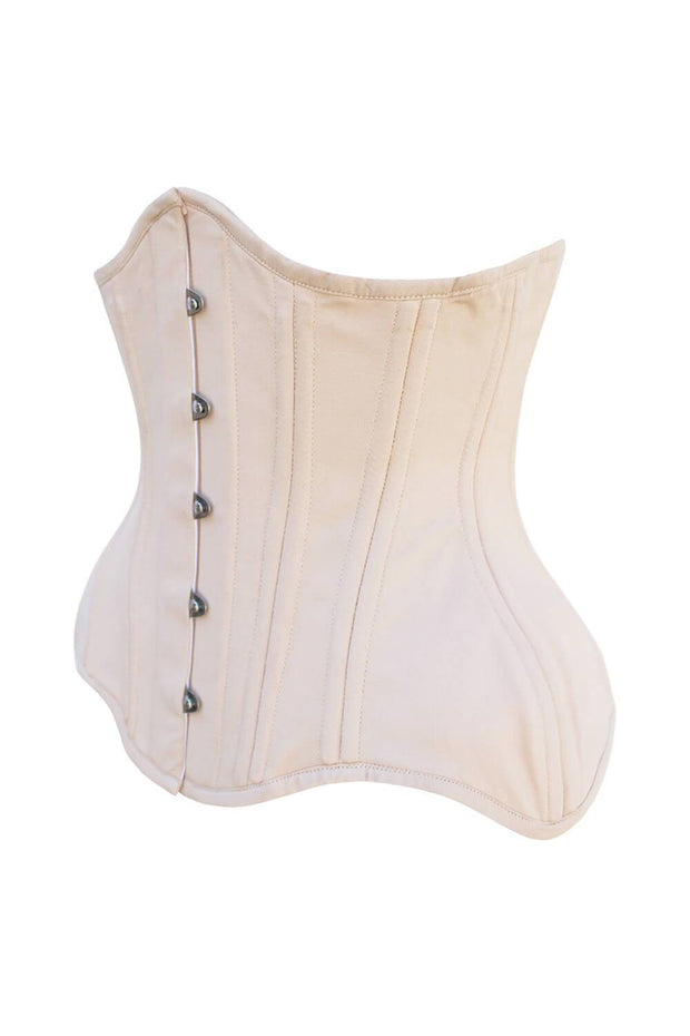 Madilyn Cotton Curvy Waist Training Underbust Corset