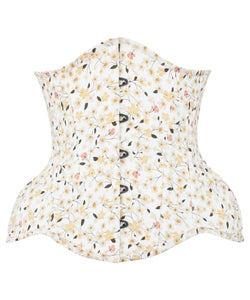 Aaradhya Curvy Floral Summer Corset in Cotton