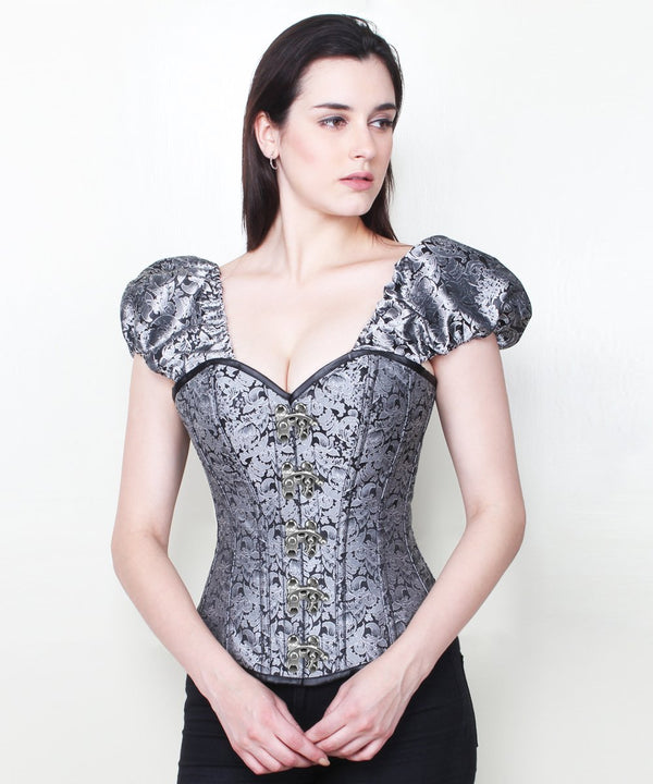 Haniya Overbust Corset with Clasp Opening