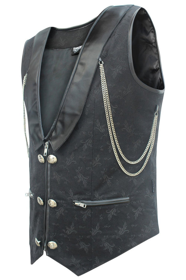 Earla Custom Made Gothic Men's Waist Coat
