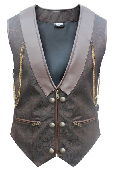 Duska Custom Made Gothic Men's Waist Coat