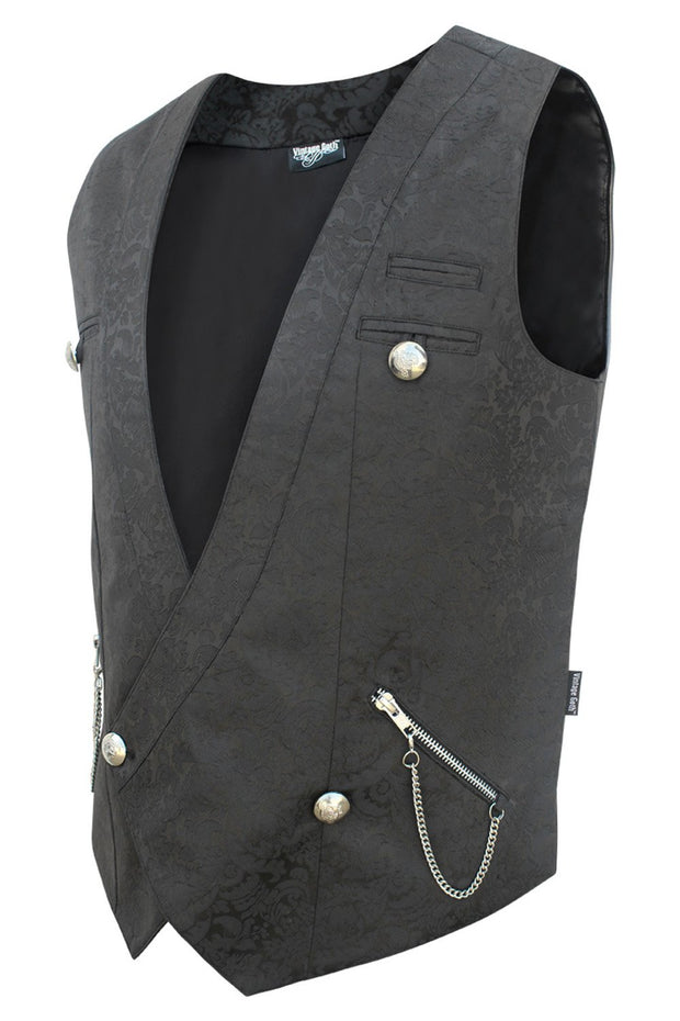 Easton Custom Made Gothic Double Breasted Men's Waist Coat