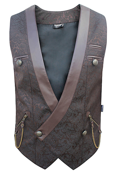 Easter Custom Made Gothic Double Breasted Men's Waist Coat
