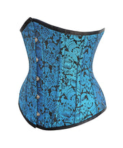 Selby Cotton Lined Brocade Underbust Corset