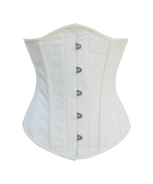 SOLD OUT - Rain Brocade Steel Boned Underbust Corset