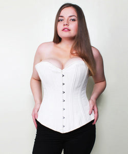 Annelise Cotton Waist Training Plus Size Corset