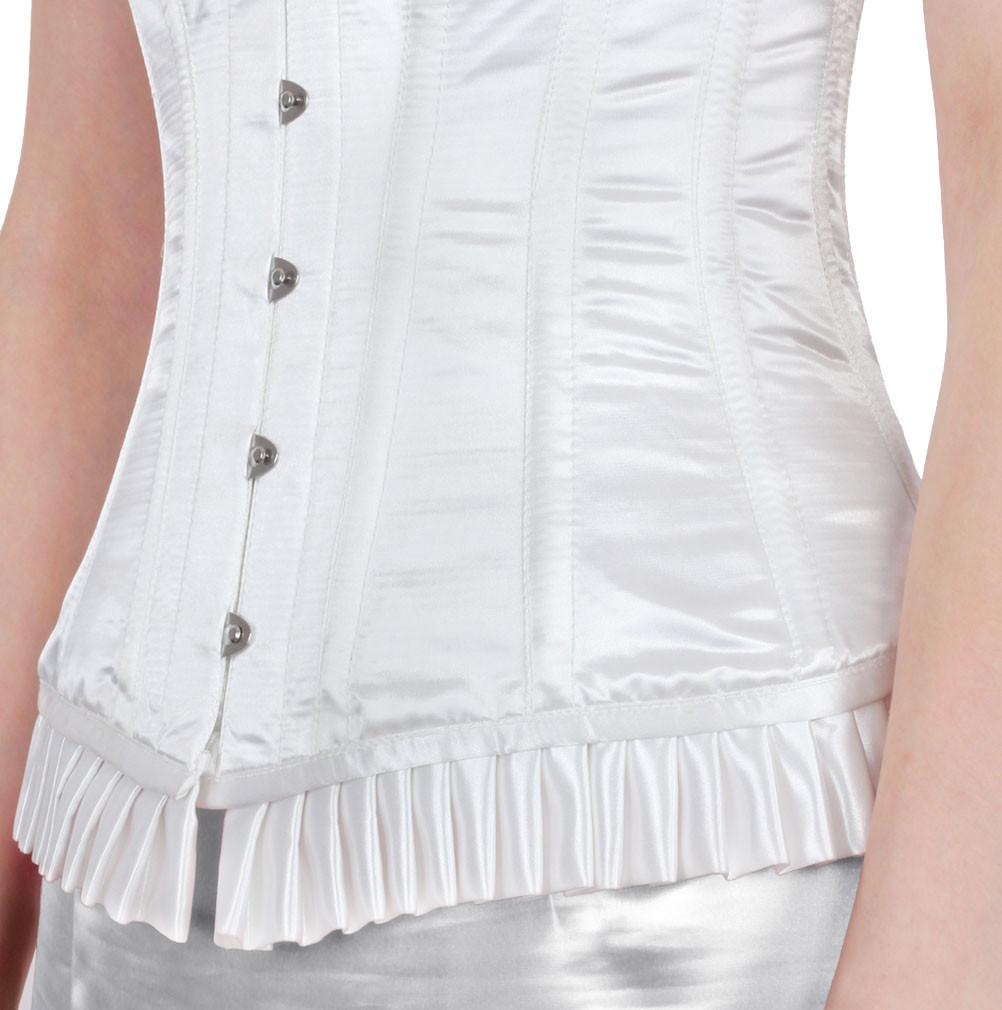 Haemon White Fashion Corset