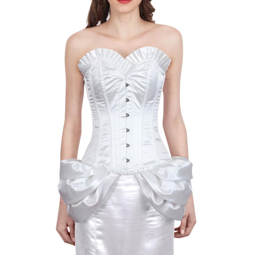 Hadrach White Fashion Corset