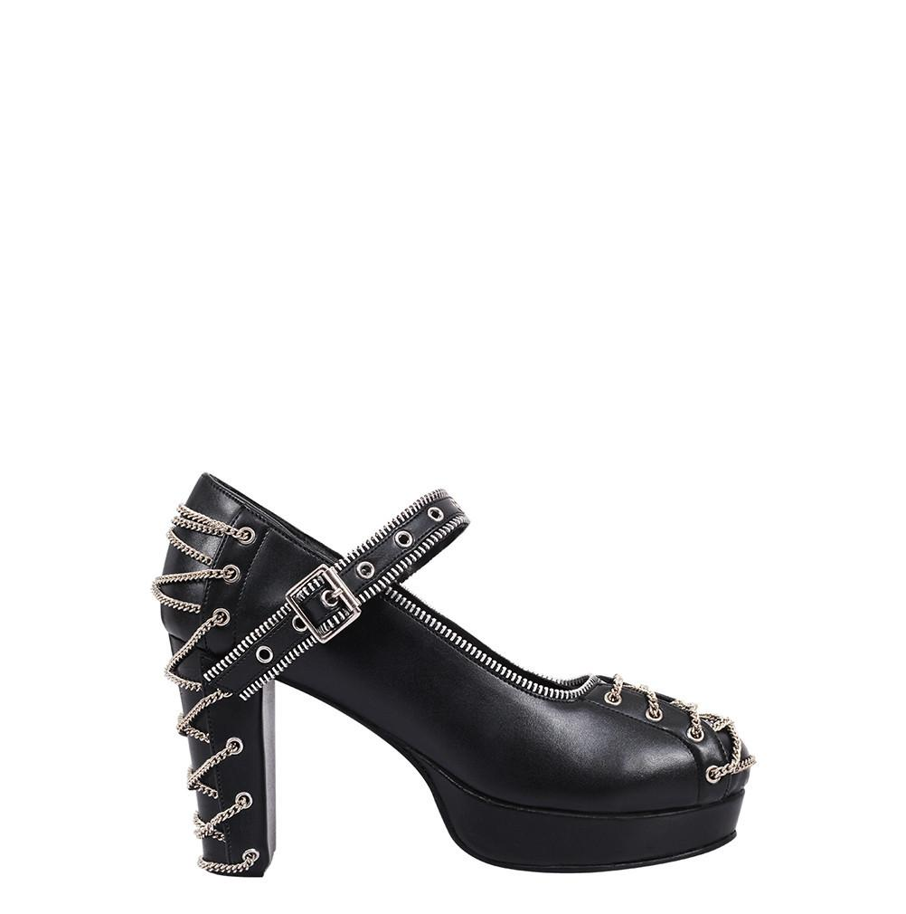 Ives Black Gothic Shoe