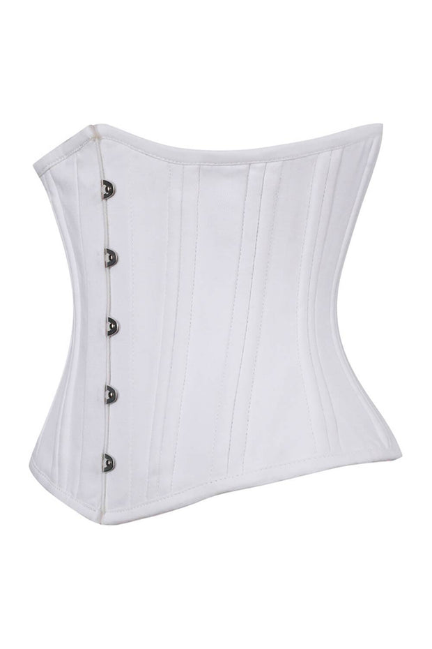 Alondra Custom Made Cotton Steel Boned Corsets Waist Training