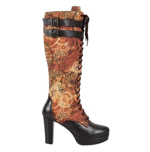 Eubllient Steampunk Boot