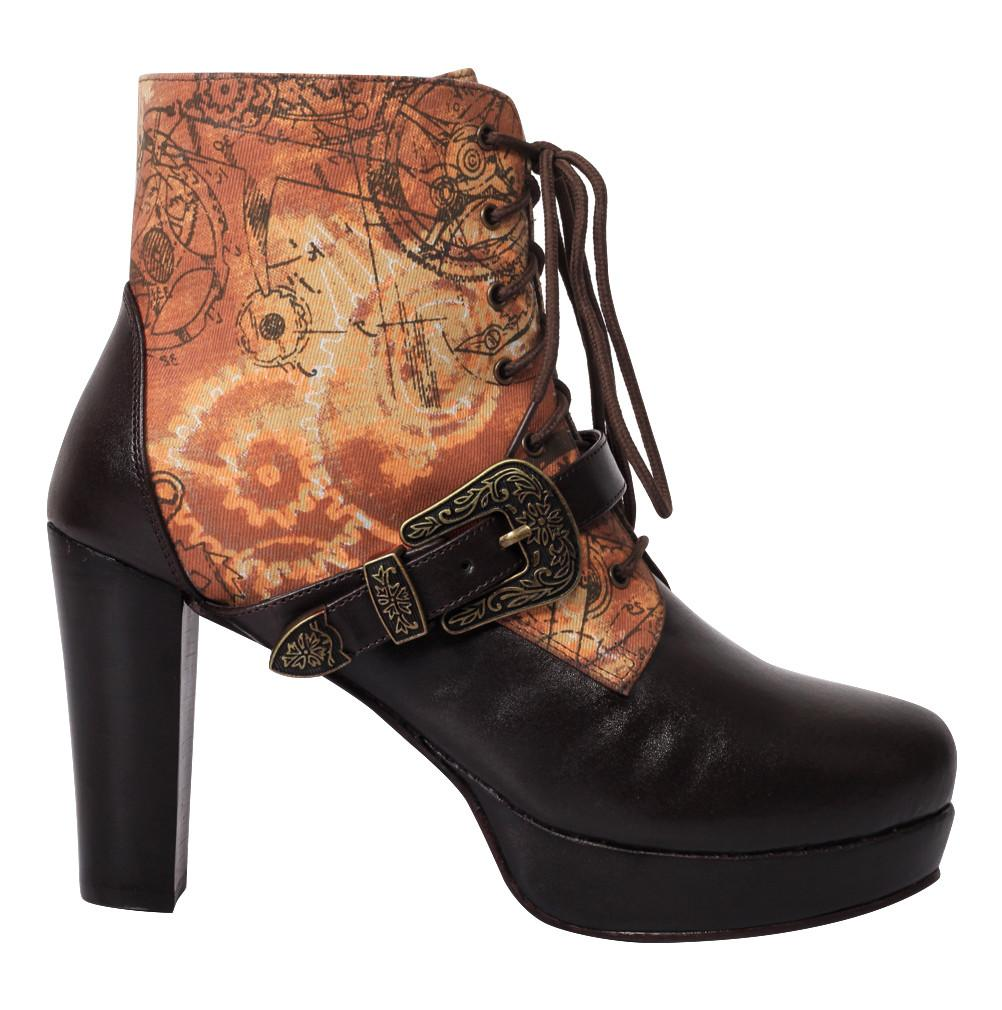 Auberta Steampunk Boot