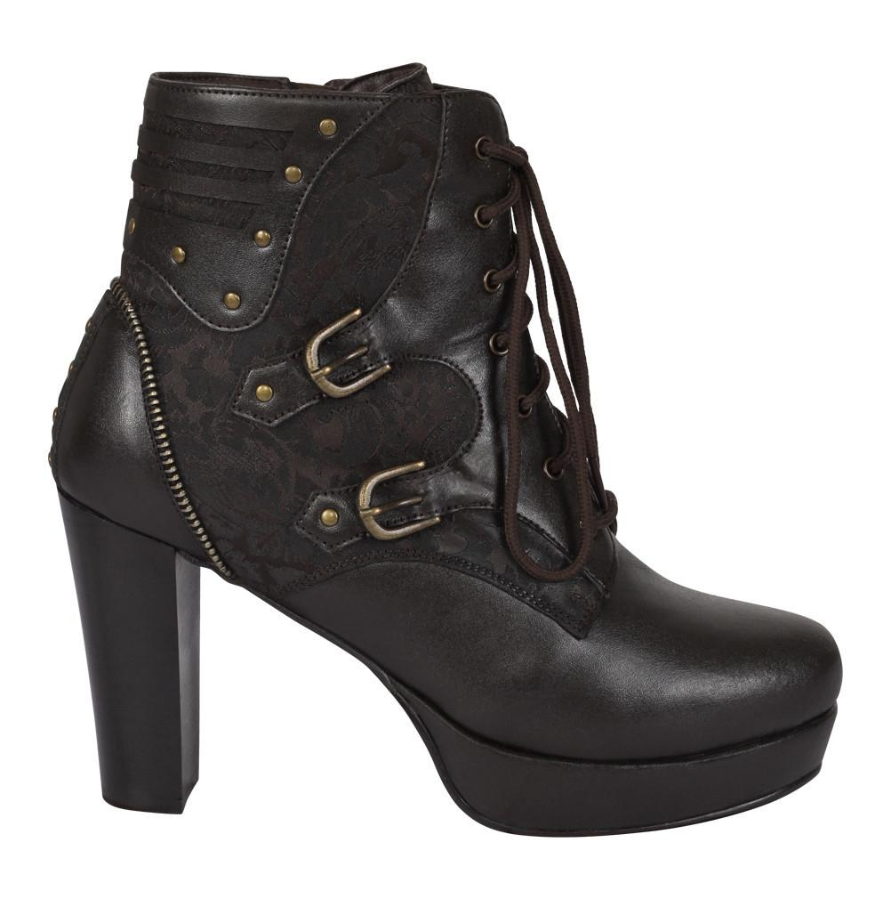 Aveline Steampunk Boot