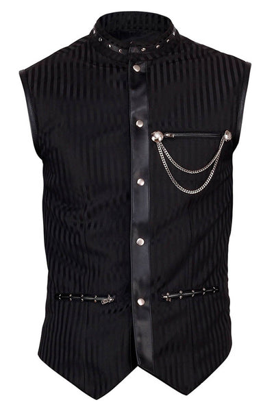 Bertwin Custom Made Gothic Men's Waist Coat