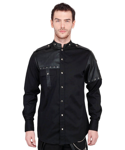 Adalrich Cotton Gothic Men's Shirt