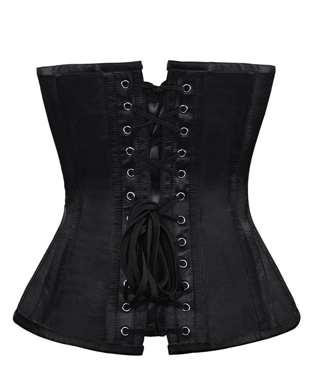 Verel Black Gothic Custom Made Corset