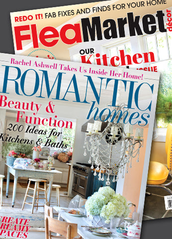 Flea Market Decor and Romantic Homes Combo Subscription