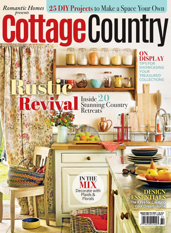 Romantic Homes Presents Cottage Country Fall 2016