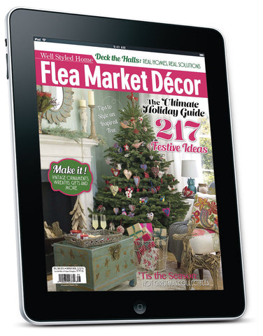 Flea Market Décor Dec/Jan 2015