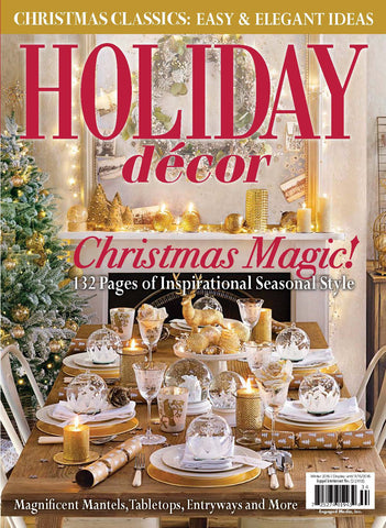 Holiday Décor Winter 2016