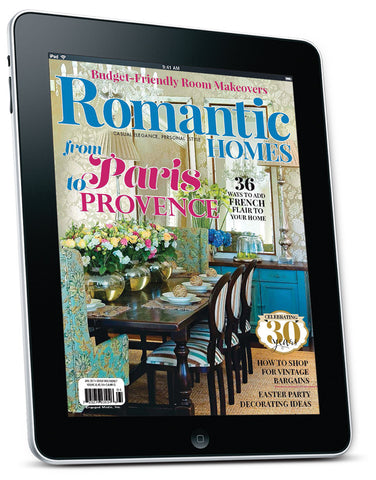 Romantic Homes April 2017