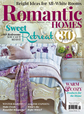 ROMANTIC HOMES PRESENTS COTTAGE COUNTRY FALL 2017 NEW/UNREAD