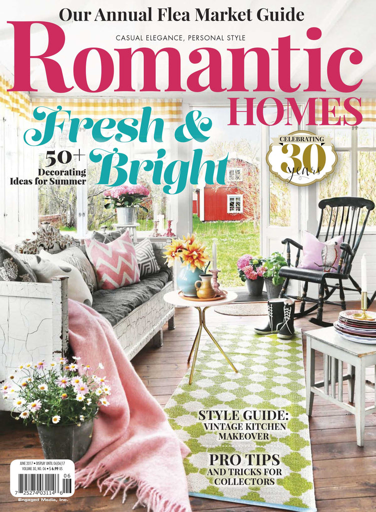 romantic homes june 2017 – engaged lifestyle