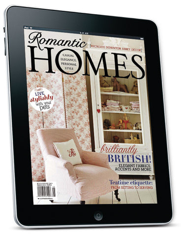 Romantic Homes May 2014