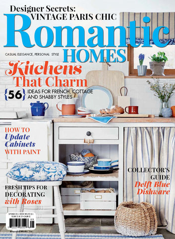 Romantic Homes Septemeber 2016