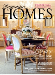 Romantic Homes October 2012