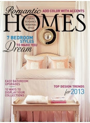 Romantic Homes January 2013