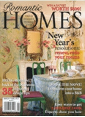Romantic Homes January 2011