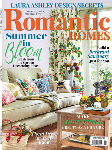romantic homes magazine back issues – decorating ideas – engaged