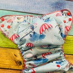 Vintage Airplanes PUL Pocket Diaper