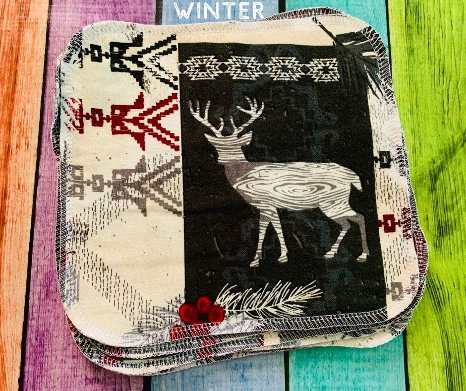 Flannel Wipes - Multiple Prints Available