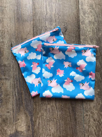 Flying Pigs Sandwich Bag