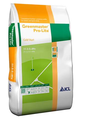 ICL Greenmaster Cold Start 11.5.5+8%Fe 25kg