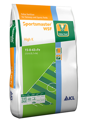ICL Sportsmaster Soluble High K 15.0.43+Fe 15Kg
