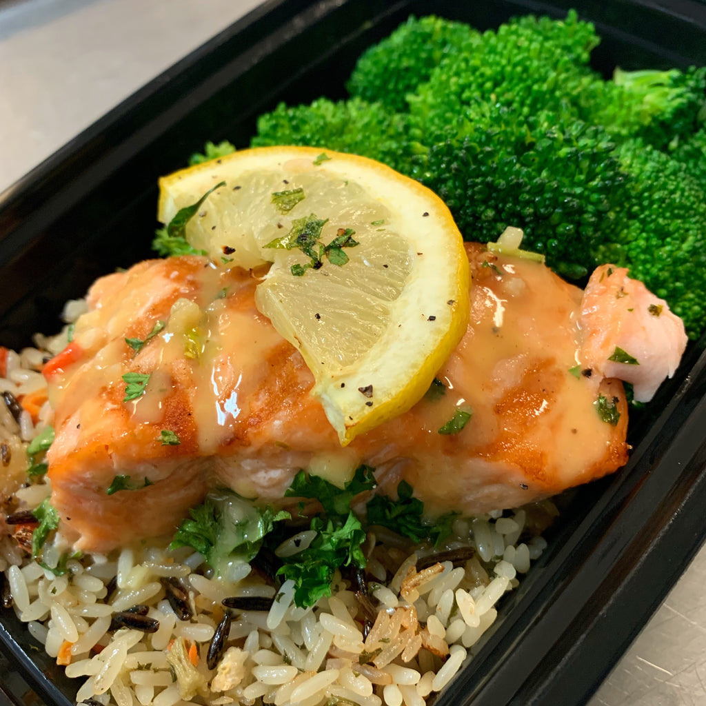Lemon Garlic Salmon *NEW*