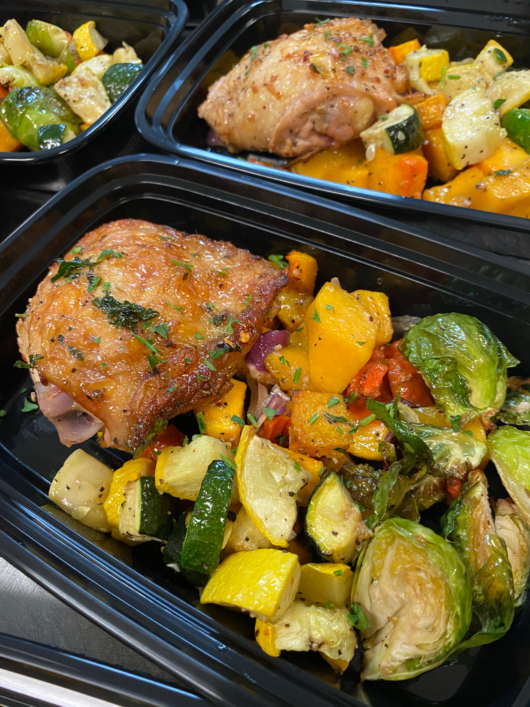 Baked Chicken with Harvest Vegetables