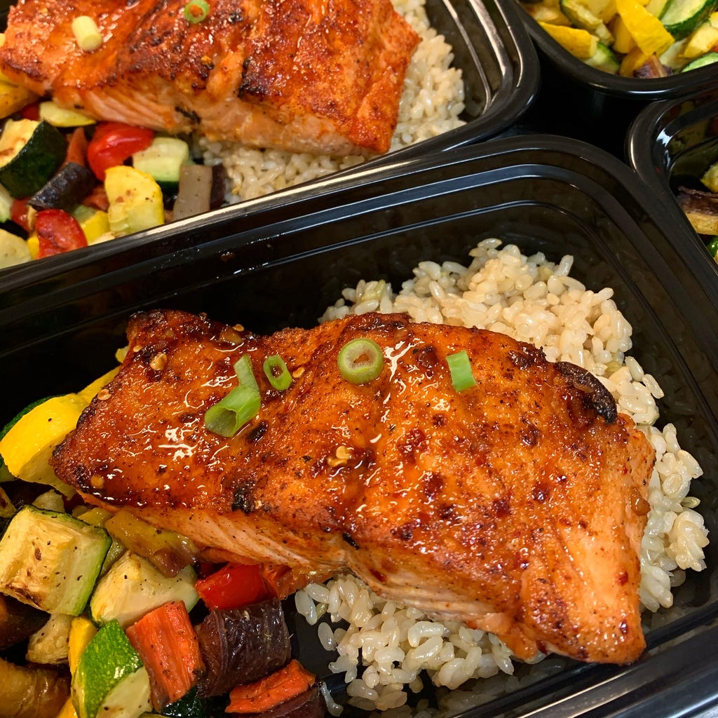 Honey Garlic Salmon *NEW*